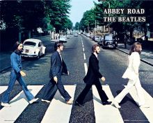 The Beatles Abbey Road poszter