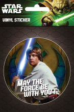 Star Wars Luke Skywalker laptop matrica